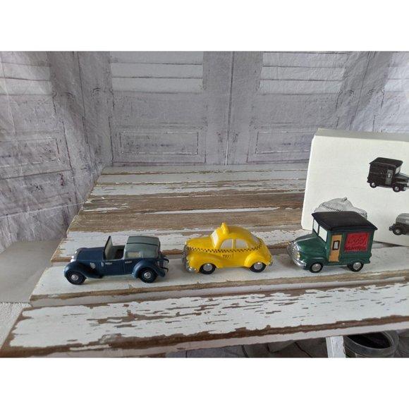 Dept 56 59641 automobiles heritage village taxi ca